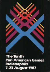 The Tenth Pan American Games Postcard