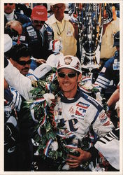Arie Luyendyk in the Winner's Circle Postcard