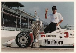 1991 Indianapolis 500 Winner Rick Mears Postcard