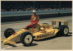 Rick Mears, Indianapolis 500 Mile Race Postcard