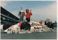 Emerson Fittipaldi - 1989 Winner of the Indianapolis 500 Postcard