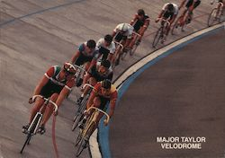 Major Taylor Velodrome Postcard