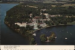 Air View of Roger Williams Inn, American Baptist Assembly