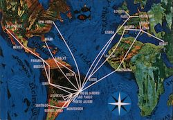 VARIG Airlines - International Routes