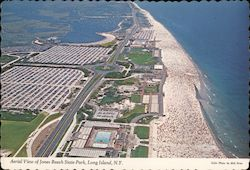 Aerial View of Jones Beach State Park, Long Island