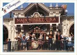 Main Street Station - Euro Disneyland