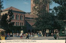The University Of Southern California, Los Angeles Postcard