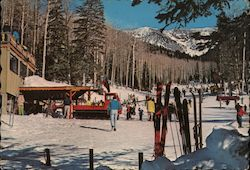Arizona Snow Bowl Ski Lodge Postcard