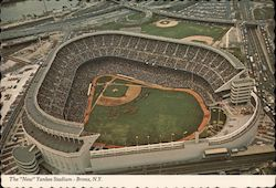 The New Yankee Stadium Bronx, NY Postcard