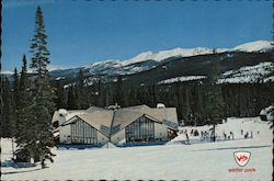Winter Park Ski Area Postcard