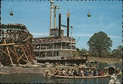 The Color of Carowinds Postcard
