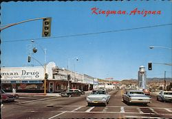 Kingman, Arizona - Andy Devine Avenue Postcard