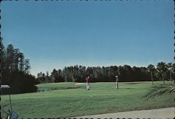 Seven Springs Country Club Postcard