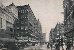 Robert Street from 7th Postcard