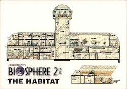 Biosphere 2 Center Postcard