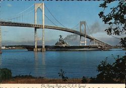 Newport Bridge and U.S.S. Intrepid