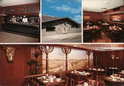 The Golden Ox Restaurant and Cocktail Lounge Postcard