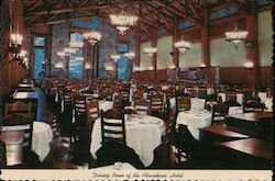 Dining Room of the Ahwahnee Hotel, Yosemite National Park