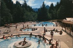 Pool Area, Sol Duc Hot Springs Resort
