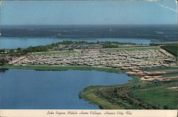 Lake Region Mobile Home Village Postcard