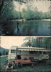 Alpine Shores Campground Postcard
