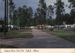 Lakepoint Resort State Park Eufaula, Alabama Postcard