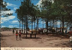 Campground on the Grand Strand Postcard