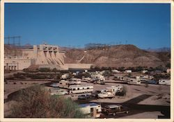 Davis Dam, Arizona-Nevada Postcard