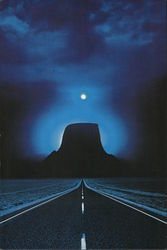 The Devil's Tower In Wyoming From Close Encounters Of The Third Kind Postcard