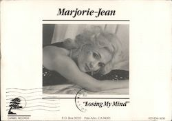 "Marjorie-Jean ""Losing my Mind"" on Carmel Records Postcard"