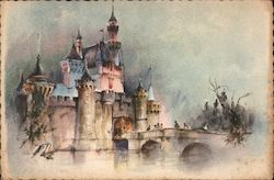 Rare Sleeping Beauty Castle - Disneyland