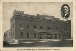 The New Armory Building Where the Sunday Meetings are Held, Rev. William A. Sunday