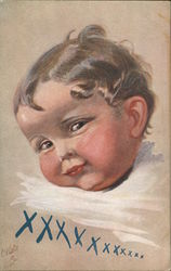 Small child smiling Postcard