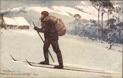 Letter Carrier, Skiing