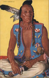 Clears Up - Salwart Blackfeet Indian Brave