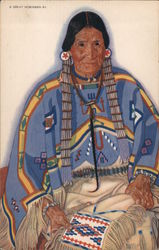 Julia-Wades-in-the-Water -- Blackfeet Indian woman