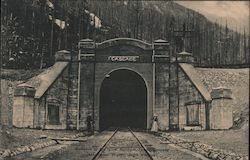 Cascade Tunnel Entrance, Stevens Pass, Washington