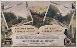 Northern Pacific Railway: Northern Pacific Express & Atlantic Express