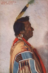 Chief Joseph. Nez-Perces. - Painting of Chief Joseph
