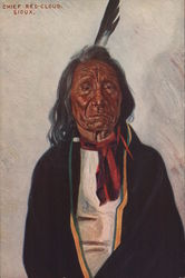 Chief Red Cloud, Sioux