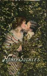 Honey Suckles - Man and Woman Kissing