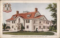 Connecticut State Building, Jamestown Exposition, 1907