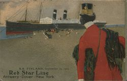 Rare SS Finland, Red Star Line F-2