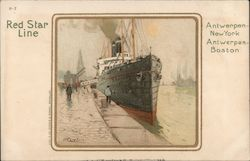 Red Star Line - Antwerpen-New York, Antwerpen-Boston