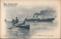 Red Star Line Antwerpen-New York. S.S. Zeeland, July 15th