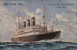 "Red Star Line: Triple Screw ""Belgenland"""