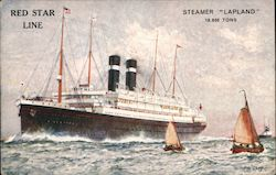 "Red StarLine: Steamer ""Lapland"""