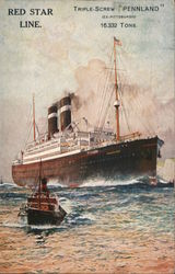 "Red Star Line: ""Pennland"""