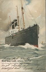 "Red Star Line, ""Vaderland"""