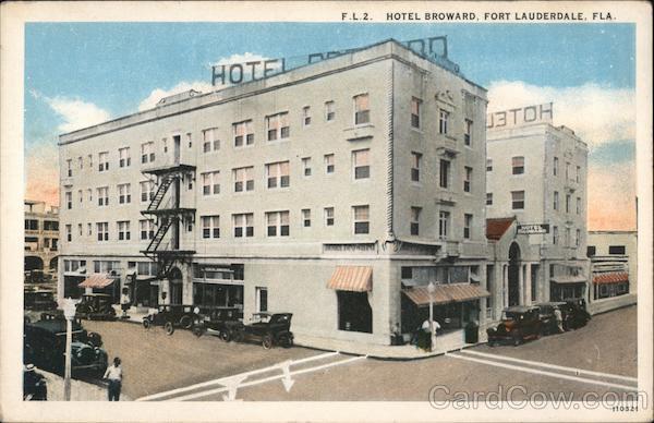 Hotel Broward Fort Lauderdale Florida